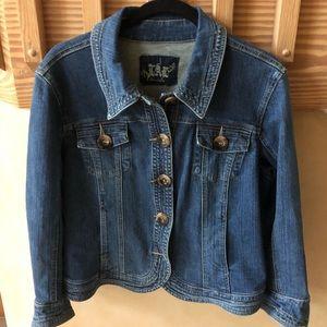 Live a Little (LAL) Denim Jacket